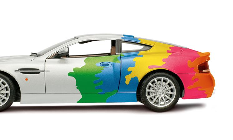 تغییر رنگ خودرو